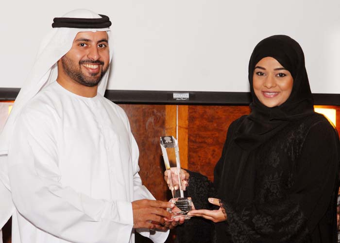 Ministry of Culture and Youth Community Development awarded the Government Customer Care Excellence Award, award received by Ms. Meriam Al swedi Corporate Management Director from Sheikh Maktoum Bin Hasher Al Maktoum, CEO, Al Fajer Group