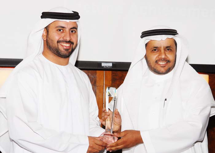 General Presidency OF Two Holy Mosques awarded the Customer Care Excellence Award, award received by Dr. Saleh H. Al Suhaibani the Cultural Attache Royal Embassy Of Saudi Arabia from Sheikh Maktoum Bin Hasher Al Maktoum, CEO, Al Fajer Group
