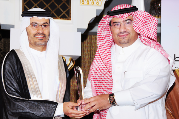 Corporate Management CEO of the Year , H.E Adnan Bin Abdullah Al Naim General Secretary ASHARQIA CHAMBER