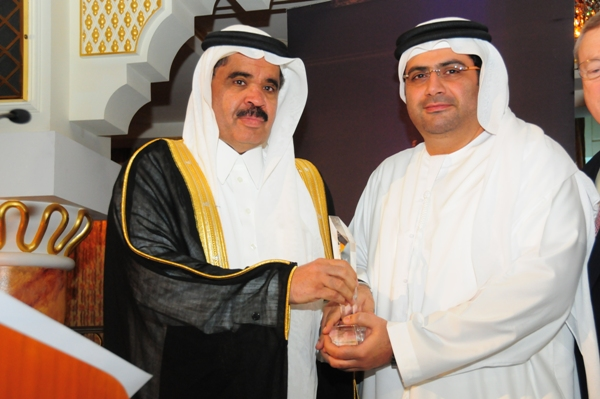 Retail CEO Excellence Award,  Received By Yasser Sharaf, CEO Sharaf Group