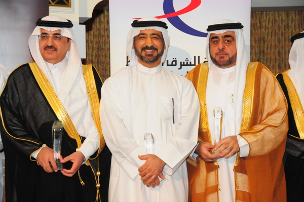From Right Dr.Abdulaziz Al Shamekh,  Ahmed Butti Ahmed and  Dr. Mansoor Al Awar