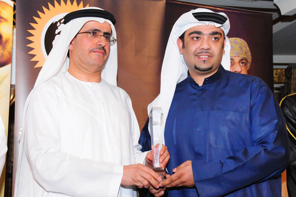 Transportation and Parking Management Excellence Award, RTA , Adel Mohammed Al Marzooqi, Director of Parking department