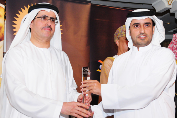 Parks and Green Spaces Excellence Award ,Al Ain Municipality, Mr. Salem Rashed Sweedan , CEO North Zone Services