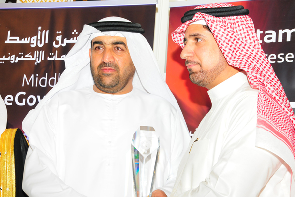 Ministry of Health - KSA awarded the e-Health strategy Excellence Award, presented by H.E. Dr. Ahmed Rashed Bin Fahd, Minister of Environment and Water, UAE and received by Dr. Mohammed Bin Rashed Al Yemeni, Deputy Minister for Planning and Health Economi